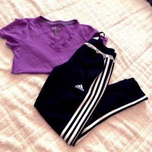Adidas Joggers (Child Size M)
